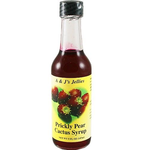 A & J's Prickly Pear Cactus Syrup 5 oz