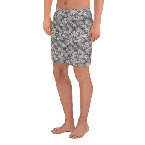 Camo Athletic Long Shorts