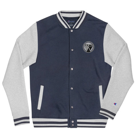 VARSITY Champion + Wood • Bomber Jacket #Collab