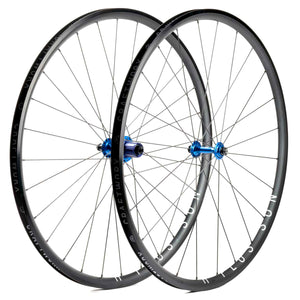 H Plus Son Archetype Wheels Blue Craftworx Hubs