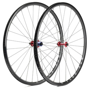 H Plus Son Archetype Wheels Red Craftworx Hubs
