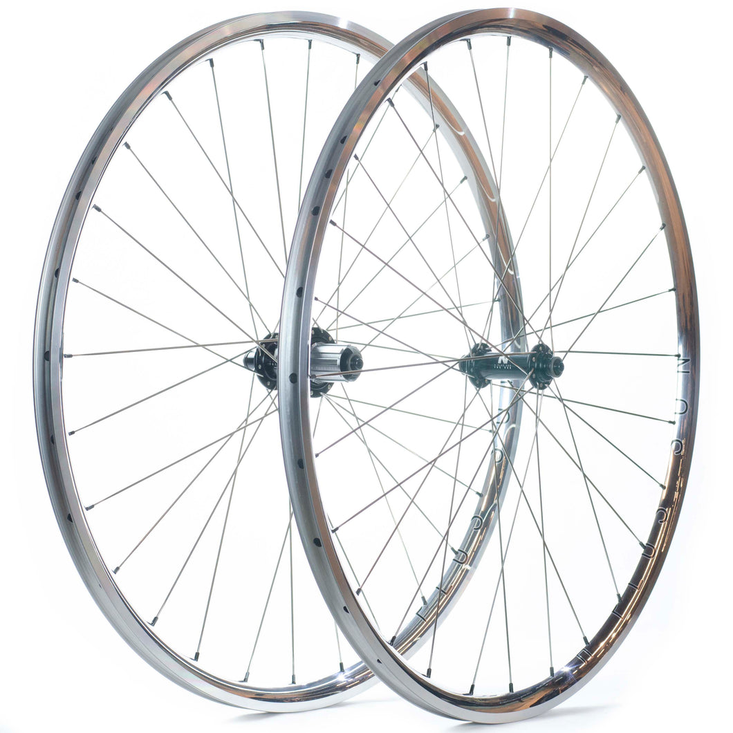 H Plus Son Archetype Wheels 28 Hole Polished Rims