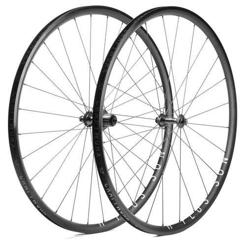 H Plus Son Archetype Wheels Black Craftworx Hubs