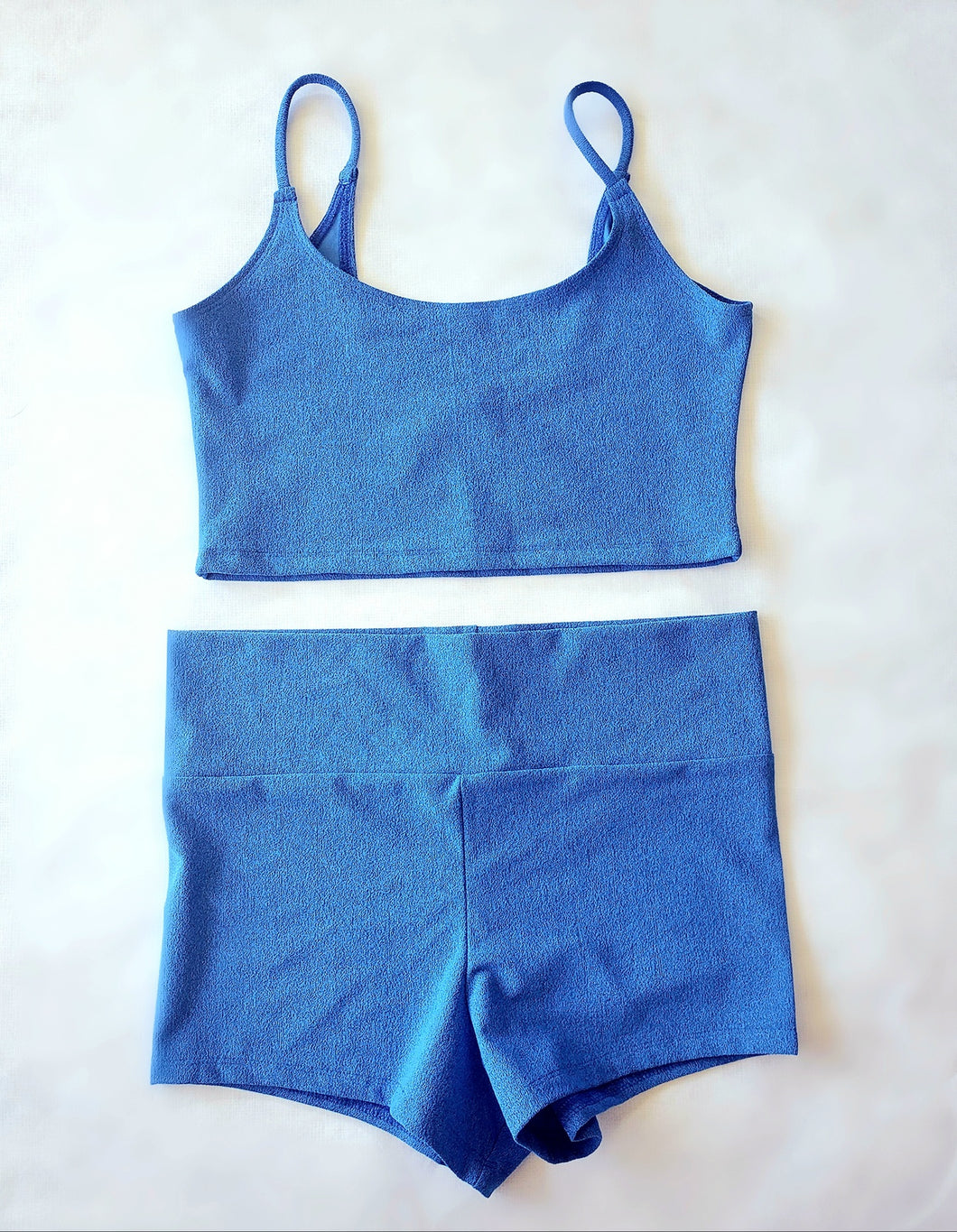 TEXTURED WORKOUT CROP CAMI- 3 COLORS AVAILABLE