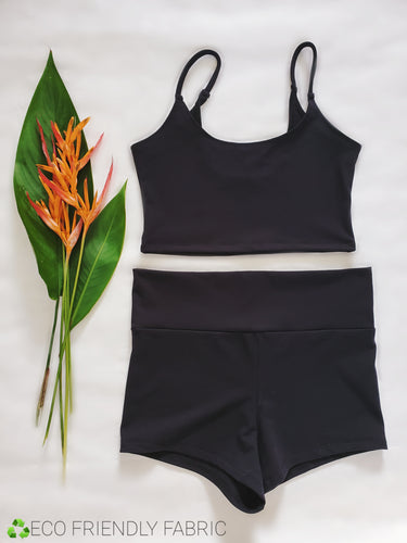 ONYX ECO LOUNGE CROP CAMI