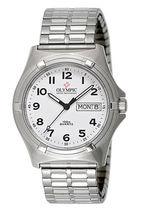 Men's Workwatch - White - Expanding Band