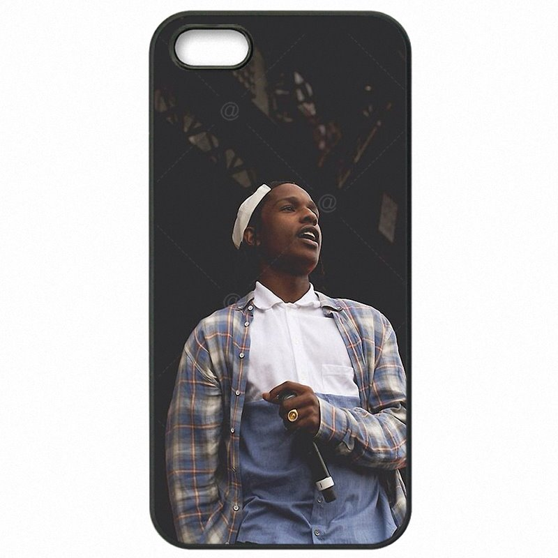 Best Looking For iPod Touch 4 A$AP Rocky Asap Rocky Logo Hip Hop Super Rapper Hard Plastic Phone Skin Shell