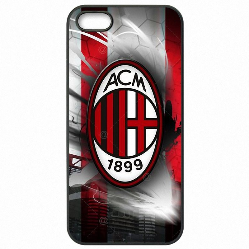 Plastic Phone Cover Shell AC Milan FC Associazione Calcio Milan Logo For iPod Touch 6 For Ladies