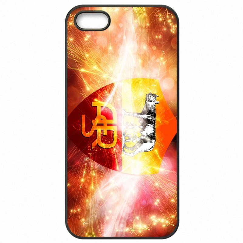 Mobile Phone Fundas AS Roma logo Football Fans Clubhouse For Huawei P10 Lite Discount