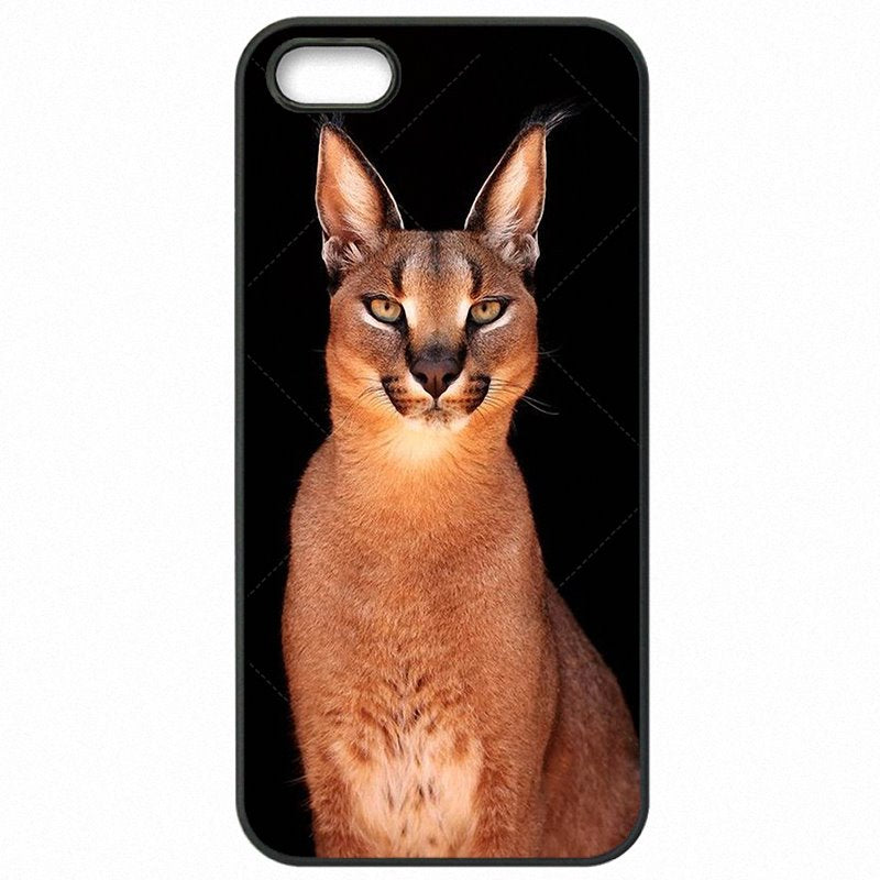 For One Plus Case Hard Phone Fundas Africa Lynx Caracals kitten Poster For OnePlus X 5.0 inch Unique