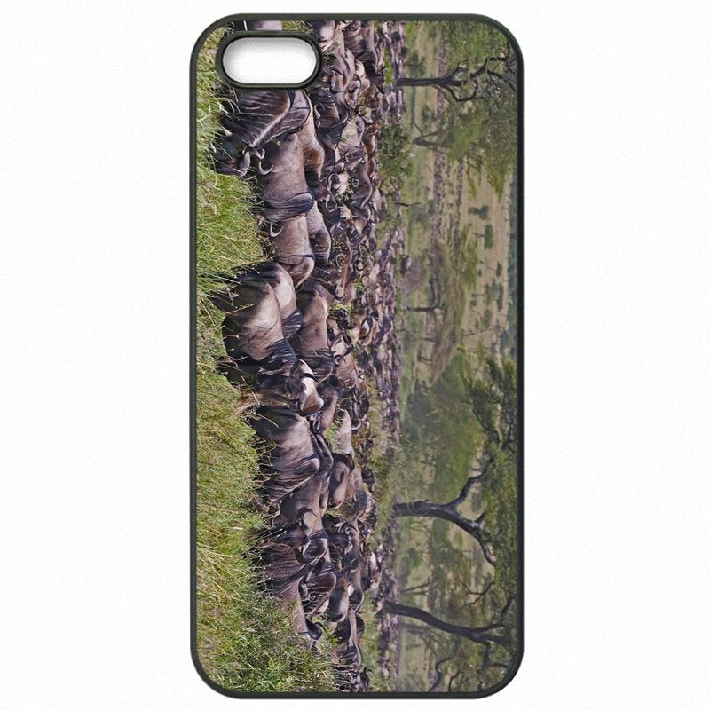 Accessories Pouches Cases Cover For Sony Xperia C3 African continent Animal migration Exclusive