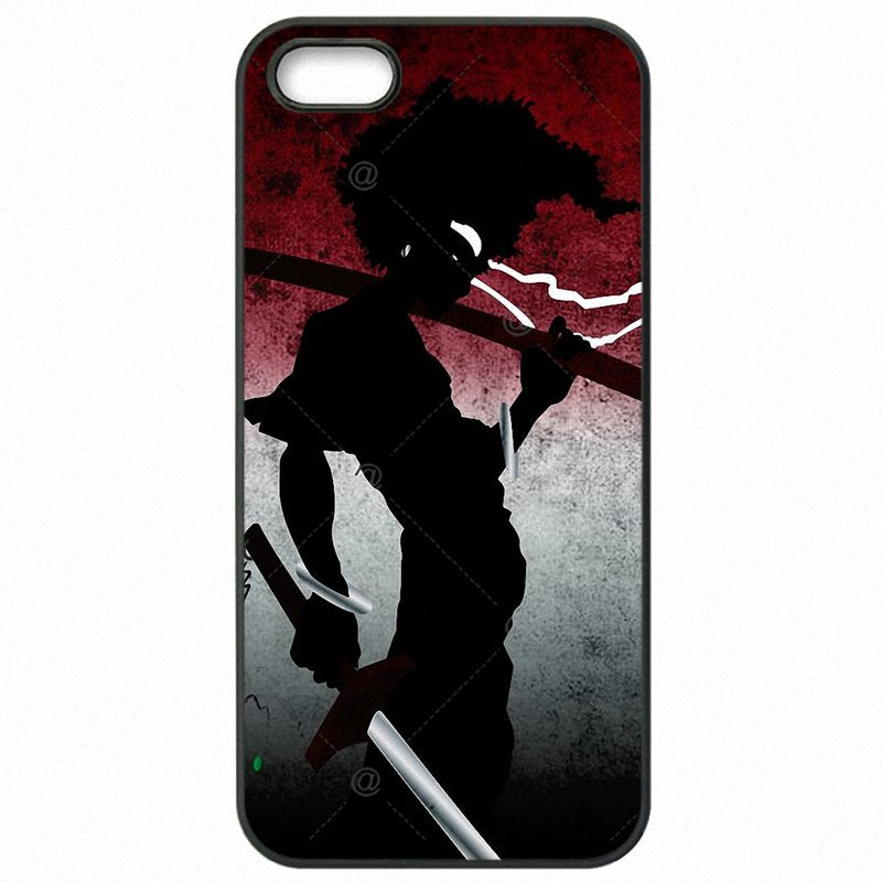 Funny Afro Samurai Manga Anime Cartoon Ninja For Sony Xperia Z4 Mini Accessories Phone Shell Case