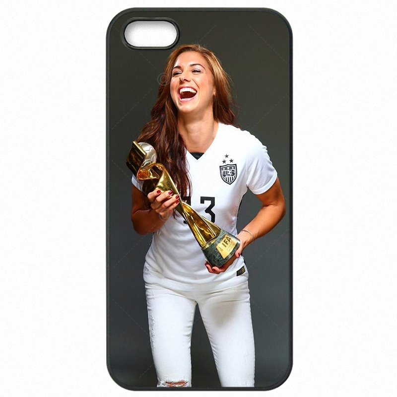 For HTC Case Cell Phone Cover Shell Alex Morgan American Soccer star For HTC 801E 801S 801N  Nouveau