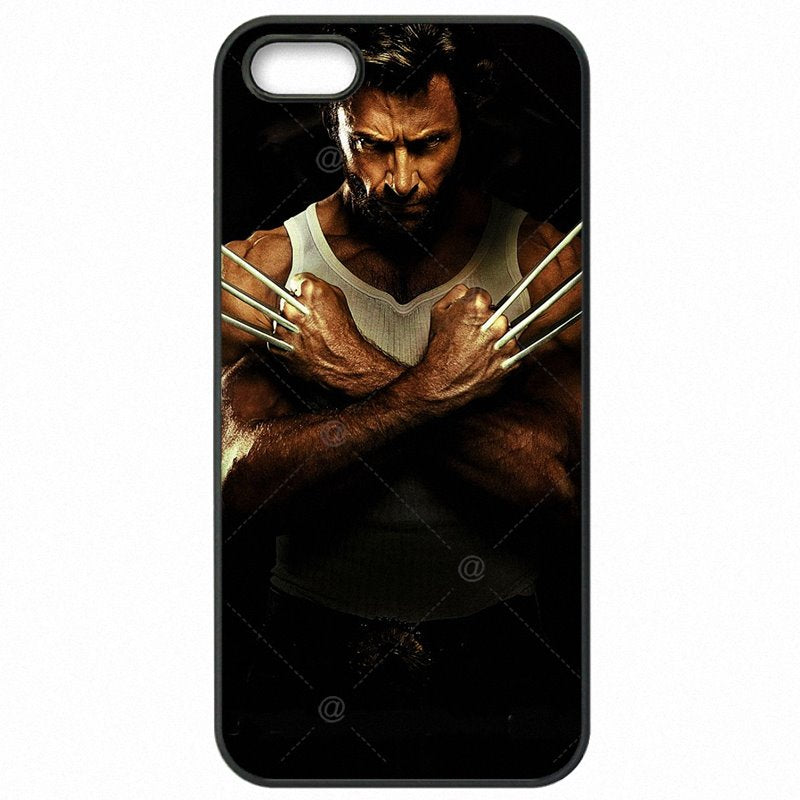Hard Mobile Phone Cases Cover For Sony Xperia M2 America Wolverine Hugh Jackman Marvel Super Heros X Man Design