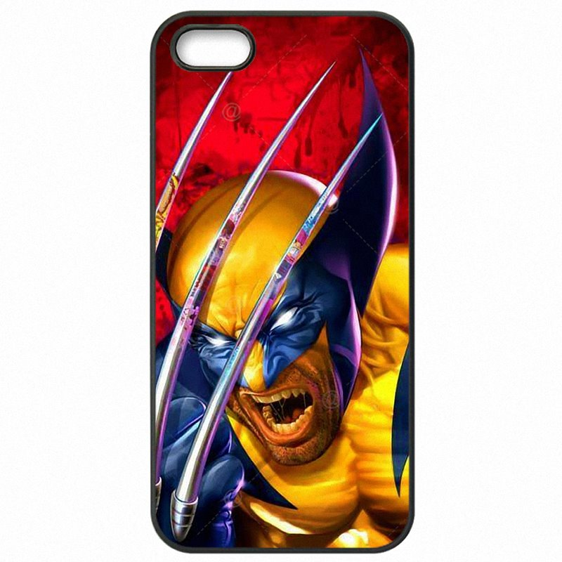 Hard Mobile Phone Cover Skin For Sony Xperia C3 Dual America Wolverine Hugh Jackman Marvel Super Heros X Man Upcoming