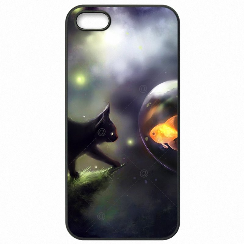 Accessories Pouches Cases Cover Anime Gray Fantasy Cat Art Pattern For Google Nexus 6 Petty Gain