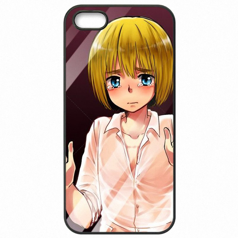 Fashional For Galaxy A5 2016 A510F Armin Arlert Anime Attack on Titan Accessories Phone Fundas