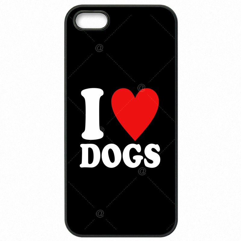 Plastic Phone Skin For Sony Case Art I Love Dogs Quote Print For Sony Xperia Z2 Mini For Kids