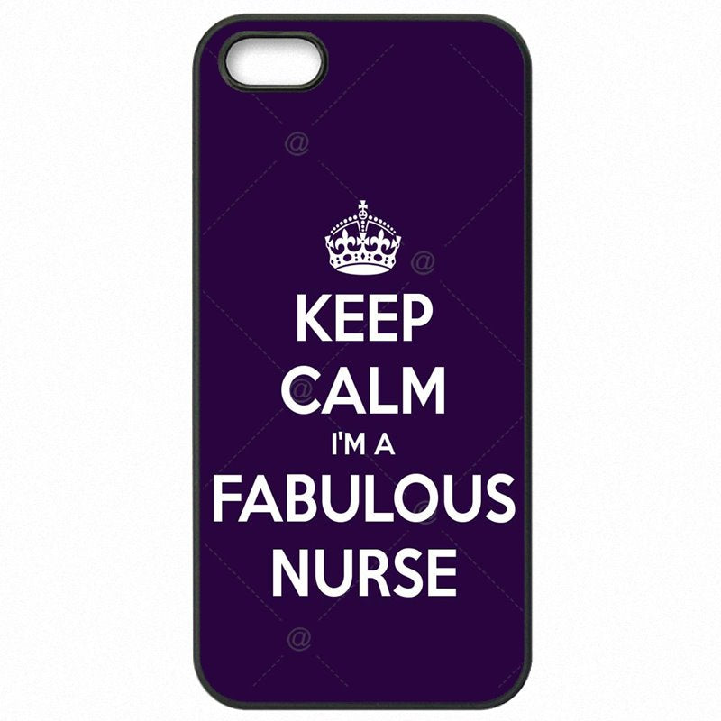Lady Art Pattern Keep Calm I'm a Nurse For Nokia Lumia 830 Protective Phone Cover Shell For Nokia Case