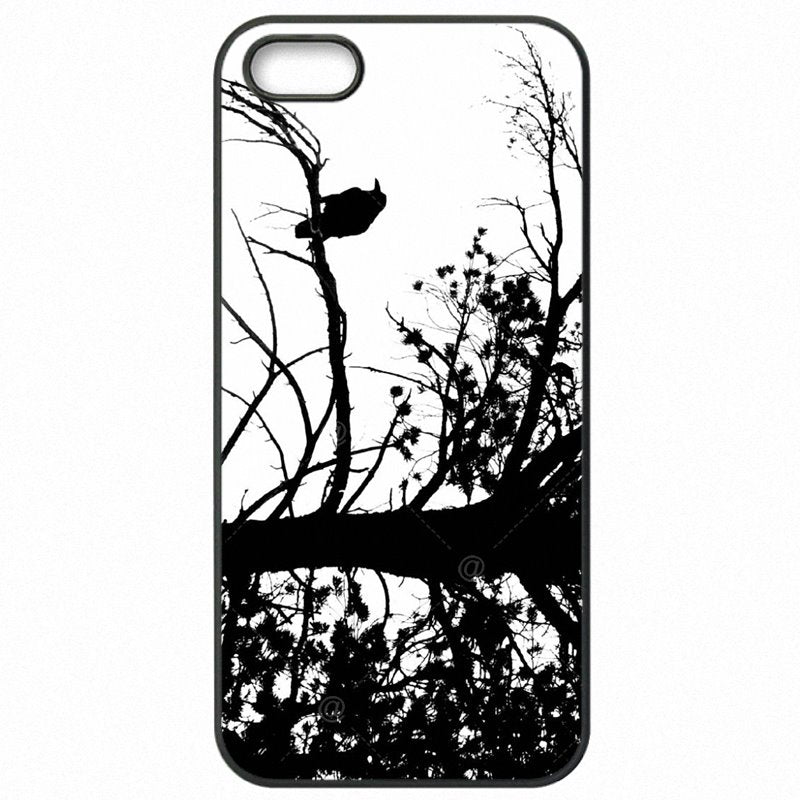 Best Looking For Huawei Ascend P9 Lite Blackbird Raven Black and White Wallpaper Cell Phone Case