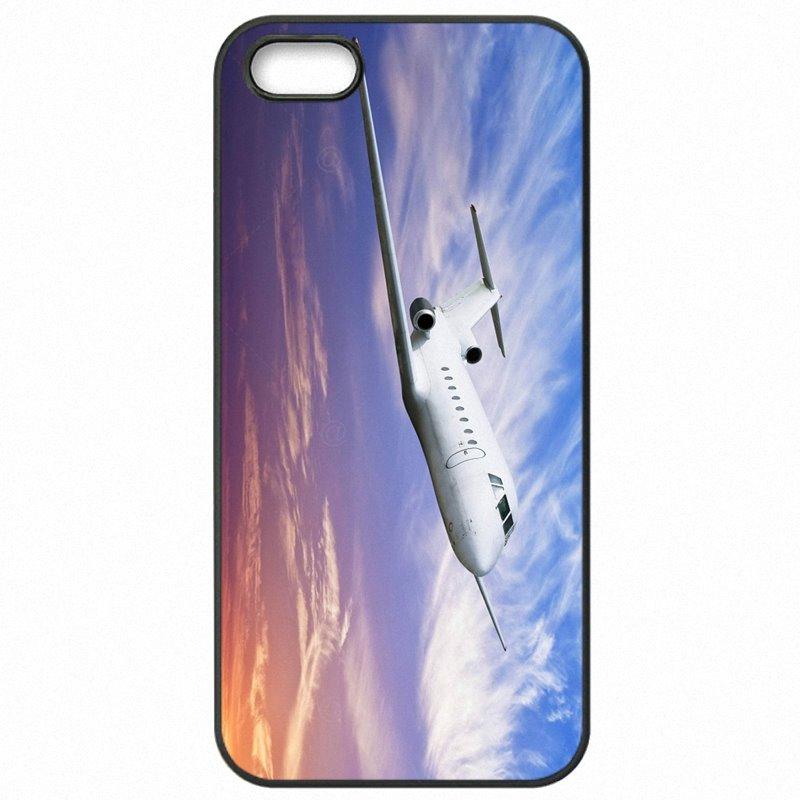 Plastic Phone Cases Cover For Galaxy J2 2016 J2100 Boeing 747 Flying Plane Wallpaper Sunset Good Quality