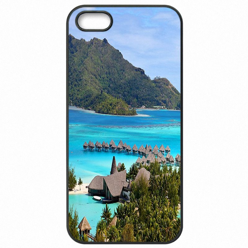 Mobile Phone Capa For Galaxy A5 2016 A5100 Bora Bora Tahiti Island Travel Childrens