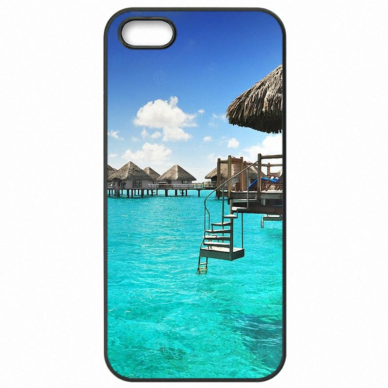 Hard Phone Case Bora Bora Tahiti Island Travel For Galaxy A8 2015 A800Y Worlds