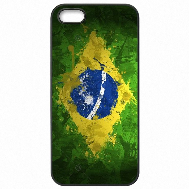 Mobile Phone Covers Case Brazilian Flag the Brazil National Flag banner For Galaxy Note 4 N910T Best Selling