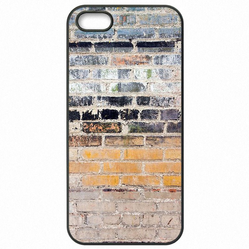 Mobile Phone Case For Huawei Honor 6 Brick Effect Grey walls rocks bricks Type