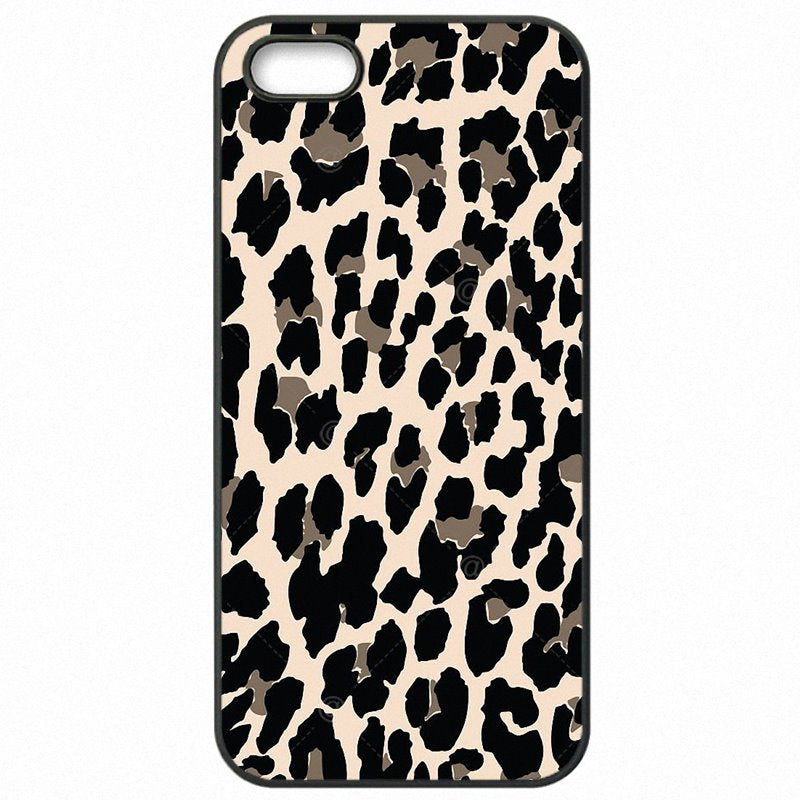 Adorable For Huawei Honor 4X 5.5 inch Brown Gold Yellow Pastel Leopard Animal Art Print Hard Plastic Phone Shell
