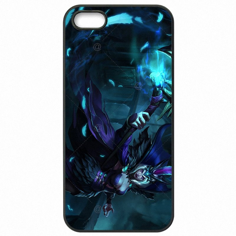 Plastic Phone Skin Shell For Galaxy S7 Edge G935FD Caitlyn Leblanc lol league of Style Super Cheap For Samsung Case