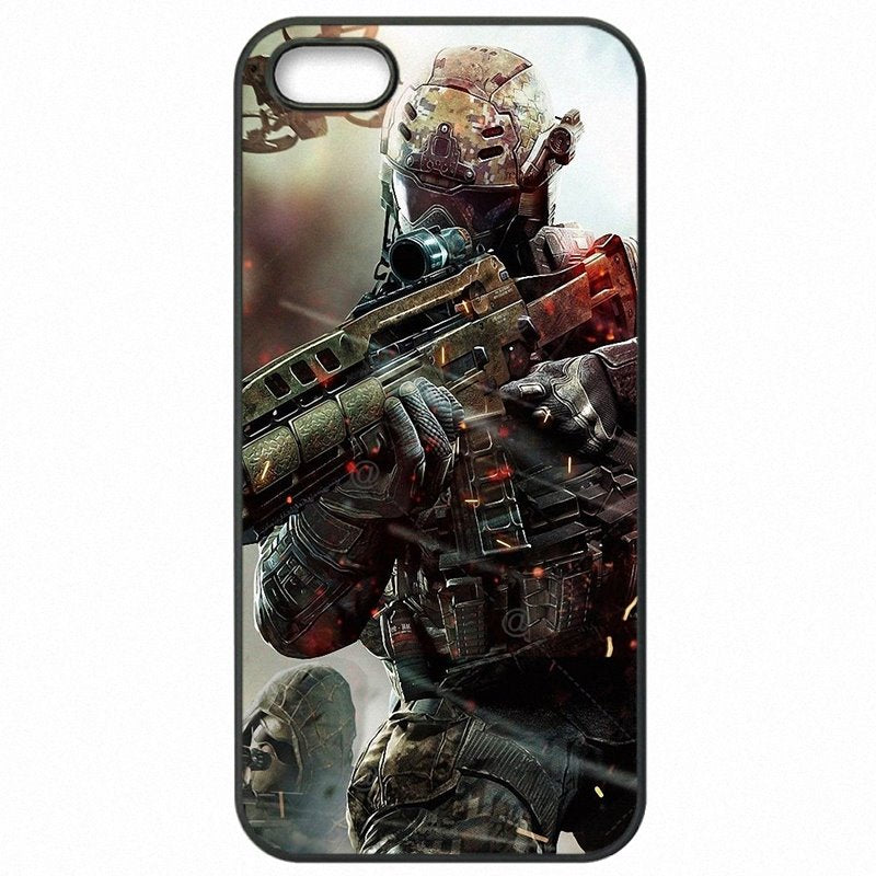 Hard Mobile Phone Bags Shell For Sony Xperia XA Call of Duty black ops hd Art print Game Poster Bright Colored