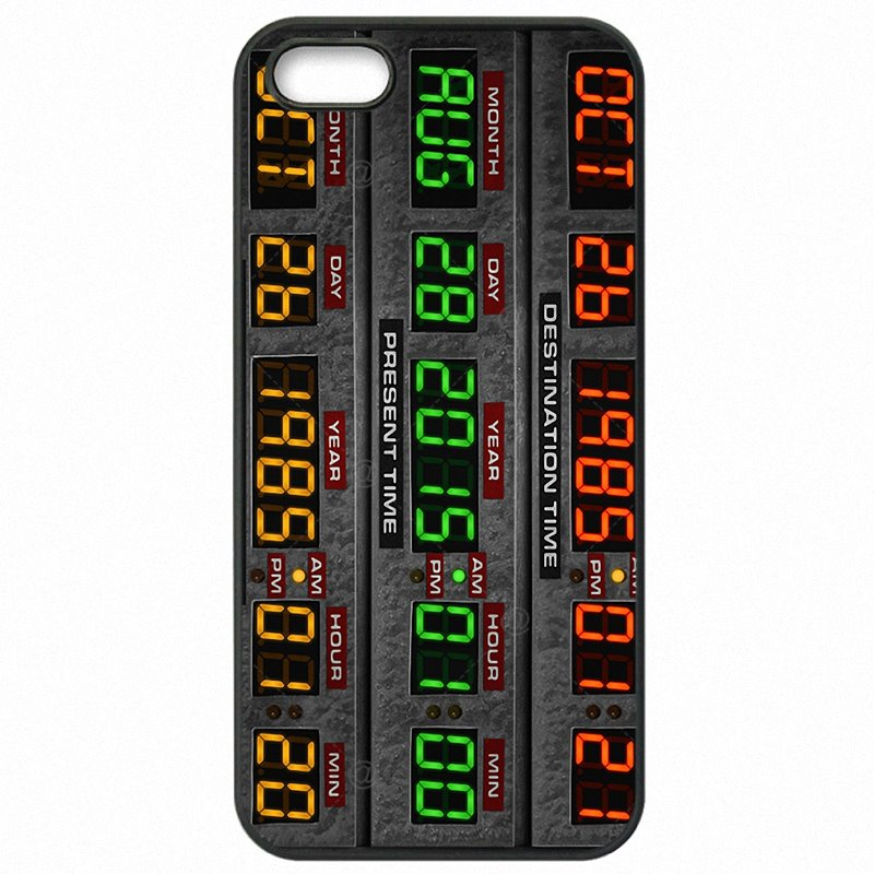 Plastic Phone Bags Capacitor Back To The Future For Moto G4 Play Jeunesse