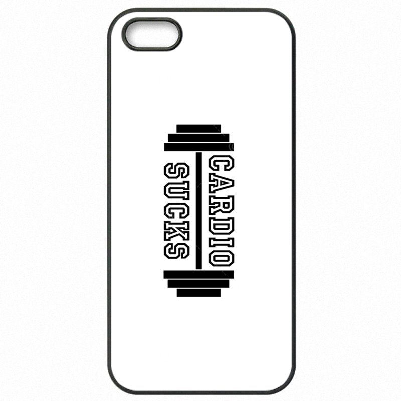 Type Of For Lenovo A 2010 Cardio Sucks Gym Quote Art Print Protector Phone Covers
