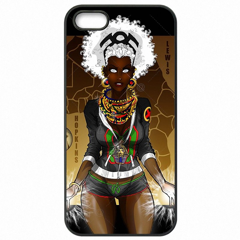 Authentic Cartoon Black Women Art Pattern For Sony Xperia Z3 D6653 Cell Phone Fundas