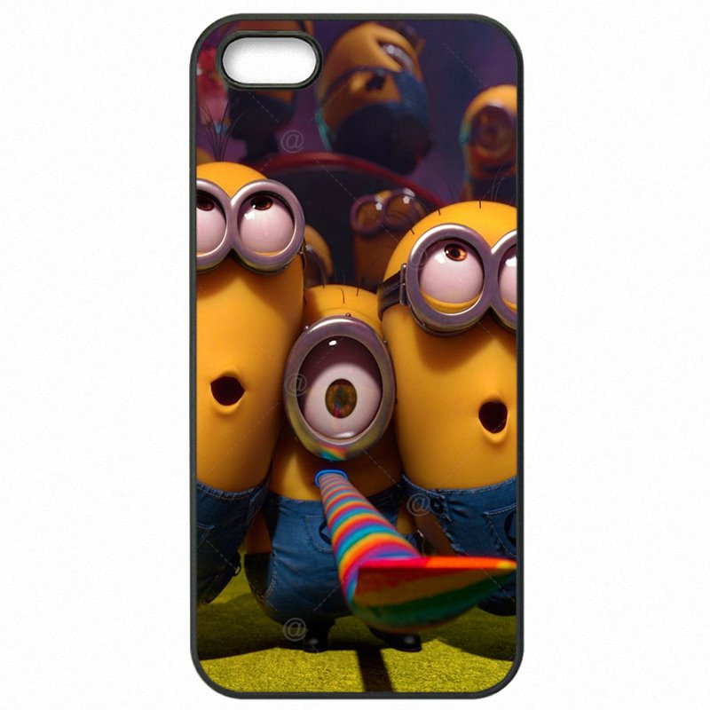 Arrival For Galaxy S4 Mini Duos Cartoon Despicable Me Yellow Minions Protector Phone Covers Case