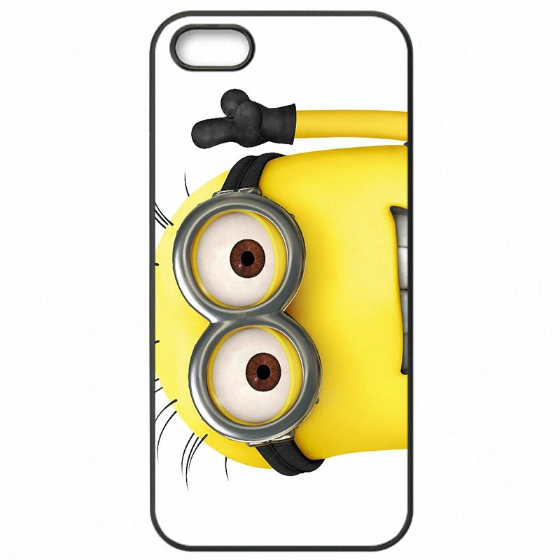 Accessories Pouches Cover Bags For Galaxy A8 2015 Cartoon Despicable Me Yellow Minions Serve Up