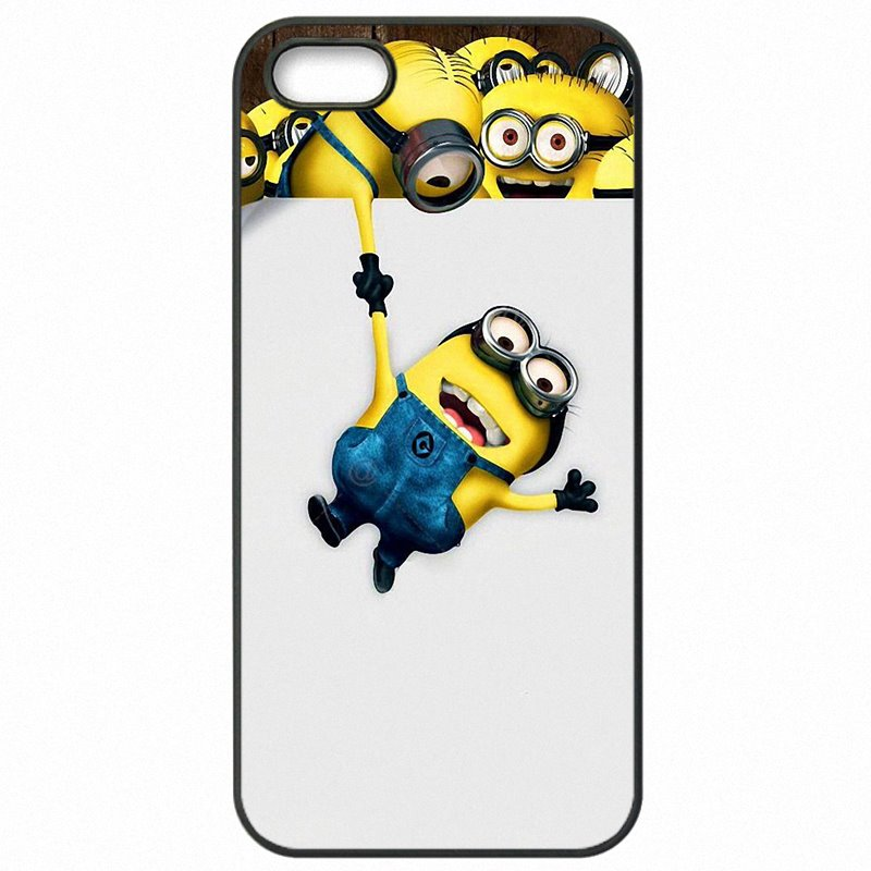 Mobile Pouch Skin Cartoon Despicable Me Yellow Minions For Moto X Play For Womens