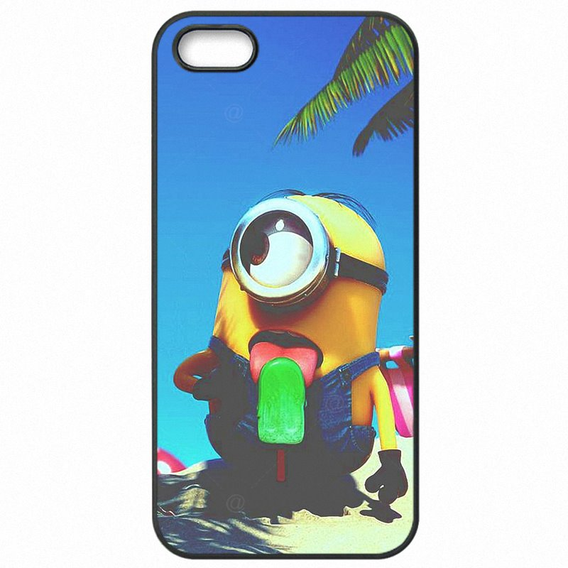 Colores Cartoon Despicable Me Yellow Minions For Moto Nexus 6 5.96 inch Protective Phone Capa
