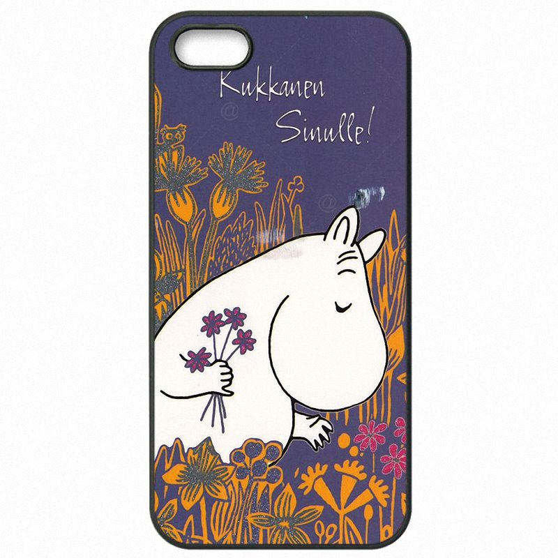 Smartphone Cartoon Hippo Cute hippopotamus Moomin cards Snufkin For Sony Xperia Z5 Mini Protector Phone Covers Case