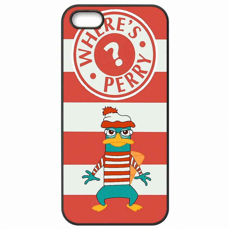 Funny Cartoon Perry The Platypus Art For Galaxy J2 2016 J210F Accessories Pouches Case For Samsung Case