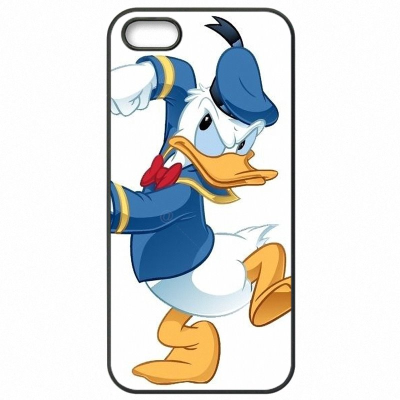 Adorable Cartoon Super Donald Duck Art For Galaxy S7 Edge G935T Cell Phone Covers Case