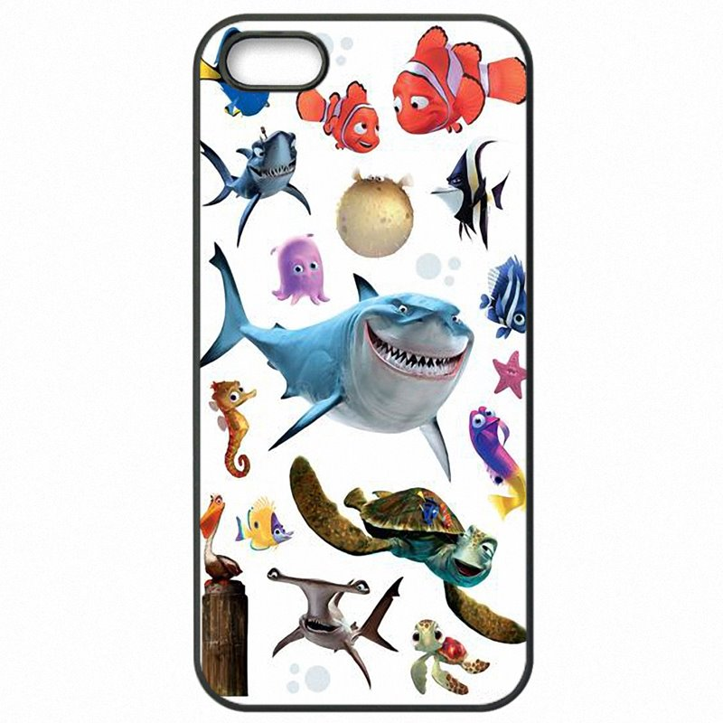 Durable For Galaxy J2 2016 Cartoon White Shark Finding Nemo Dory fish For Samsung Case Mobile Phone Skin