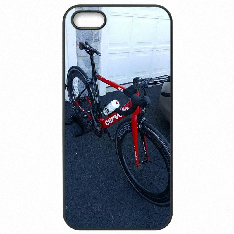 Hard Plastic Phone Accessories For Galaxy S4 Mini I9195I Cervelo Bike Team Bicycle Cycling Logo Less