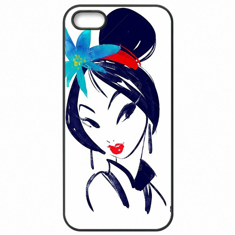 Accessories Phone Cover Skin Chinese Japan Style Cartoon Anime Mulan Art Pattern For Moto E2 XT1506 Releases