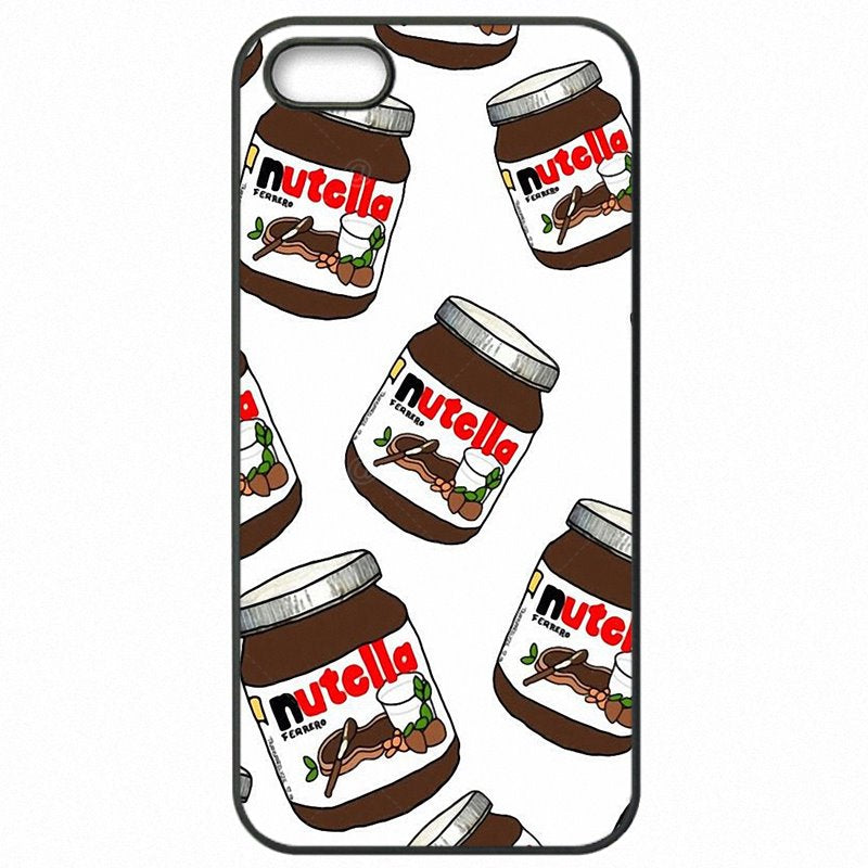 Cell Phone Cover Chocolate Tumblr Nutella Bottle Pattern Collage For Moto Nexus 6 Inexpensive
