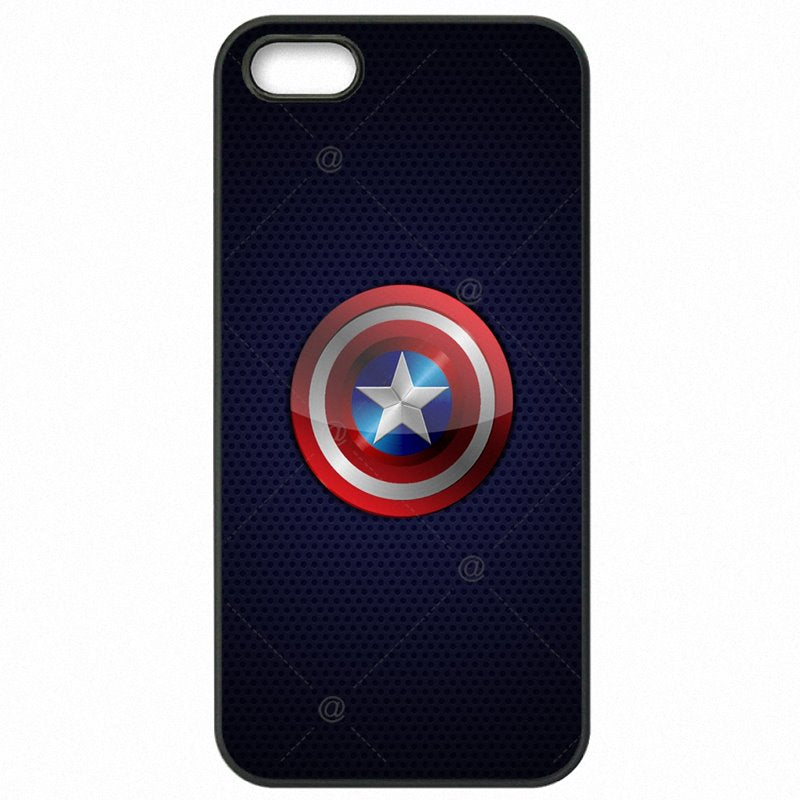 Hard Mobile Phone Accessories Chris Evans Super Hero Captain America Shield Marvel For Sony Xperia XA Less