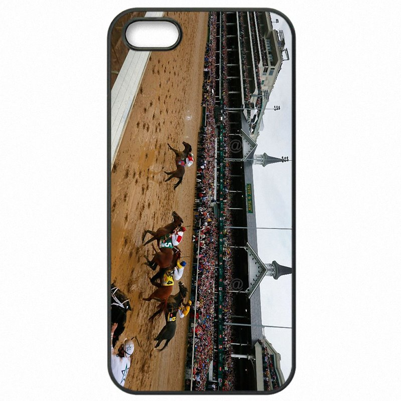 Plastic Phone Shell Case Churchill Downs Horse race Poster For Galaxy A8 2015 A800F Super
