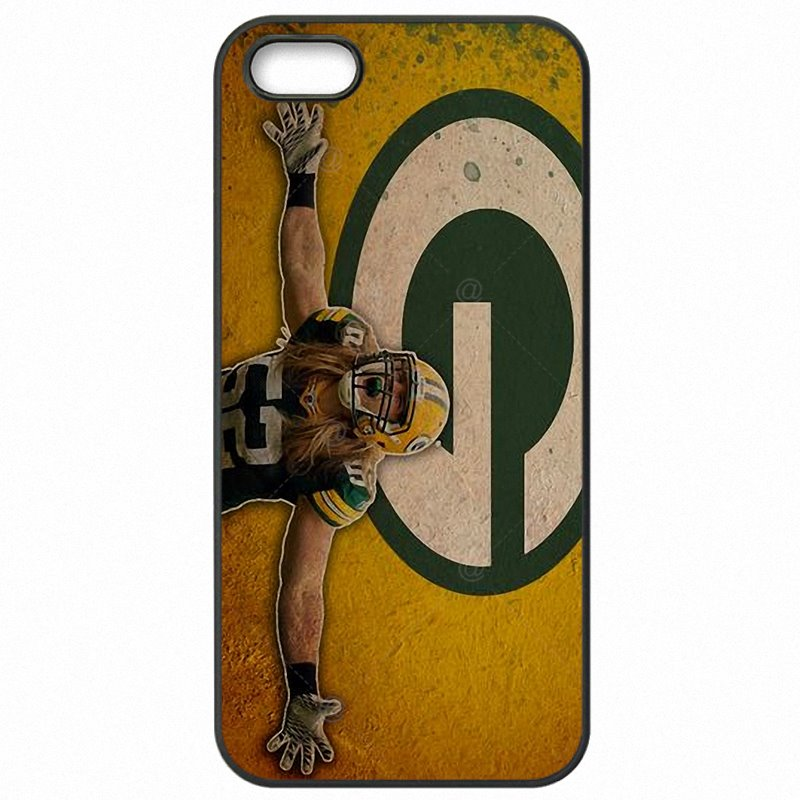 Coloured For Galaxy A8 2015 Clay Matthews green bay packers Hard Mobile Phone Bags Shell