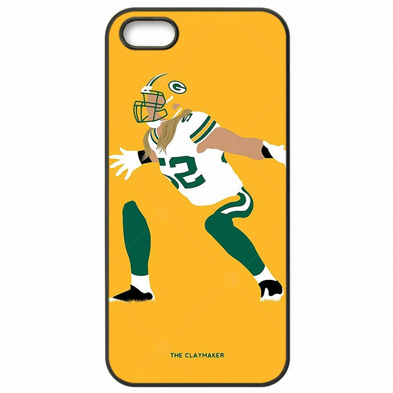 Accessories Pouches Fundas Clay Matthews green bay packers For iPhone 6S A1688 Boys